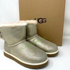UGG Women's Boots Arielle Sparkle Boot Fur Gold